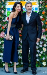 Amal Clooney In Stella McCartney - People's Postcode Lottery Charity Gala