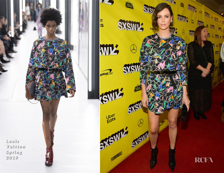 Charlize Theron In Louis Vuitton - 'Long Shot' SXSW Premiere