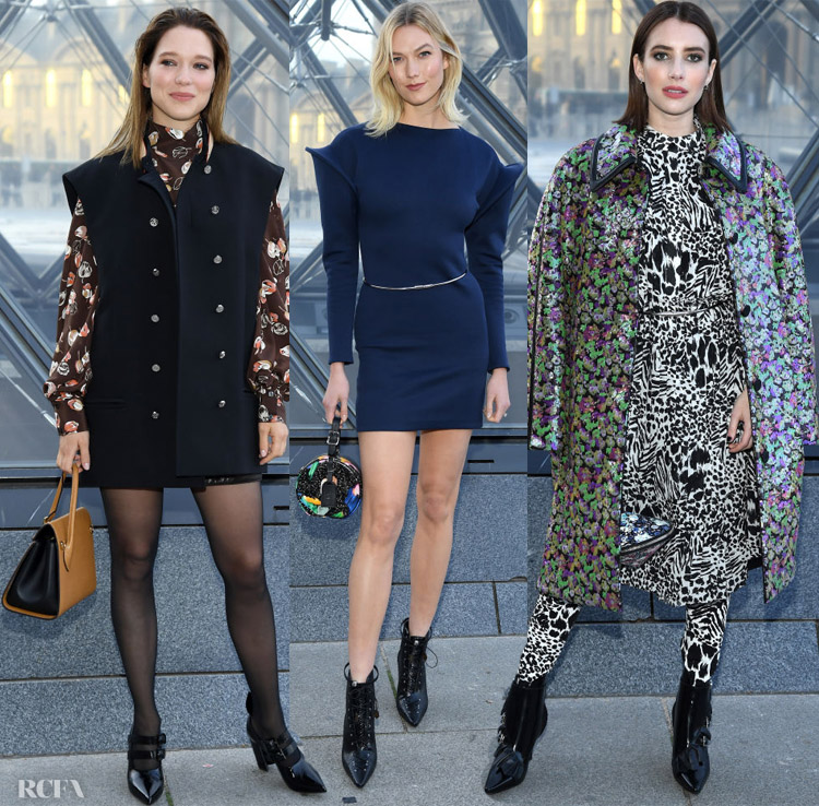 Front Row @ Louis Vuitton Fall 2019