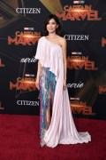Gemma Chan In Ralph & Russo Couture - 'Captain Marvel' LA Premiere