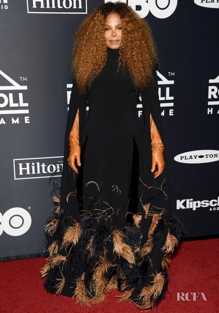 Janet Jackson In Jean Paul Gaultier Haute Couture - 2019 Rock & Roll Hall Of Fame Induction Ceremony
