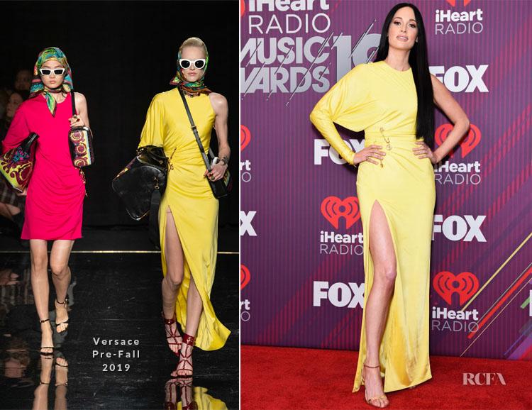 Kacey Musgraves In David Koma & Versace - 2019 iHeartRadio Music Awards