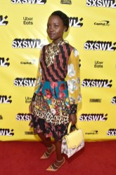 Lupita Nyong'o In Alice + Olivia - 'Little Monsters' SXSW Premiere