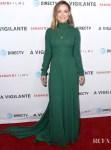 Olivia Wilde Goes Green For The LA Premiere of 'A 'Vigilante'