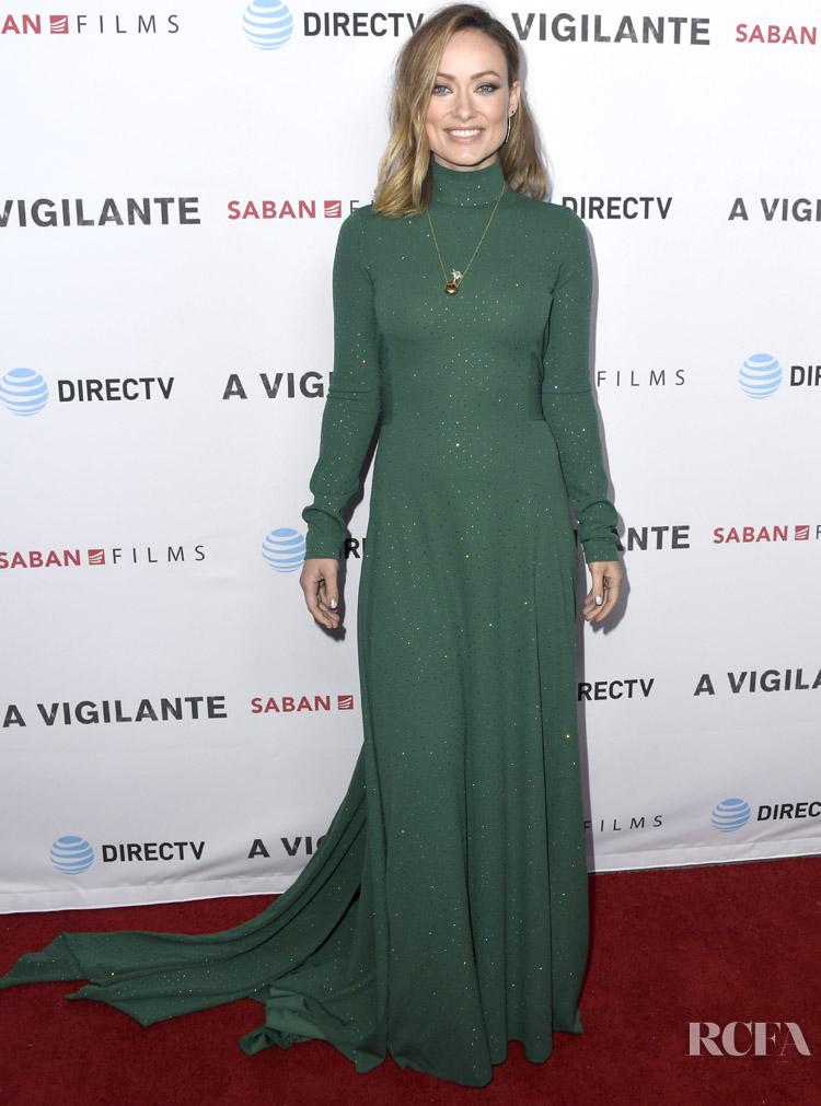 Olivia Wilde In Marc Jacobs - 'A 'Vigilante' LA Premiere