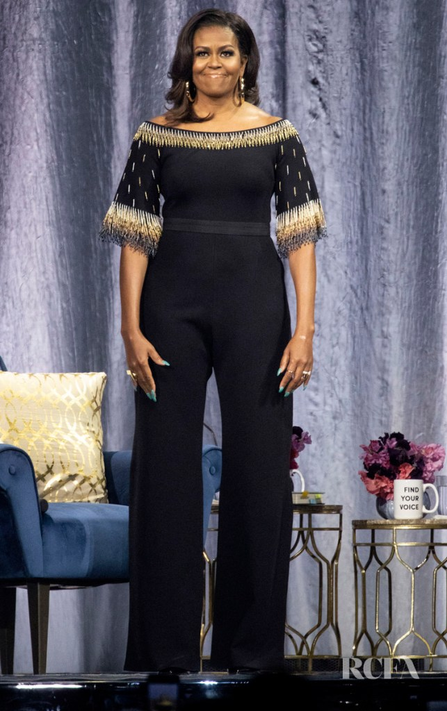 'Becoming: An Intimate Conversation with Michelle Obama' In London in Stella McCartney