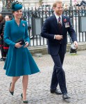 Catherine, Duchess of Cambridge and Prince Harry  Commemorate Anzac Day