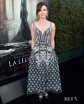 Linda Cardellini Wears Ulyana Sergeenko Couture For 'The Curse of La Llorona' LA Premiere