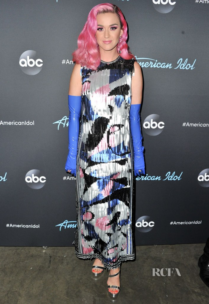 Quirky Katy Perry Comes Out To Play For 'American Idol' in Emilio Pucci