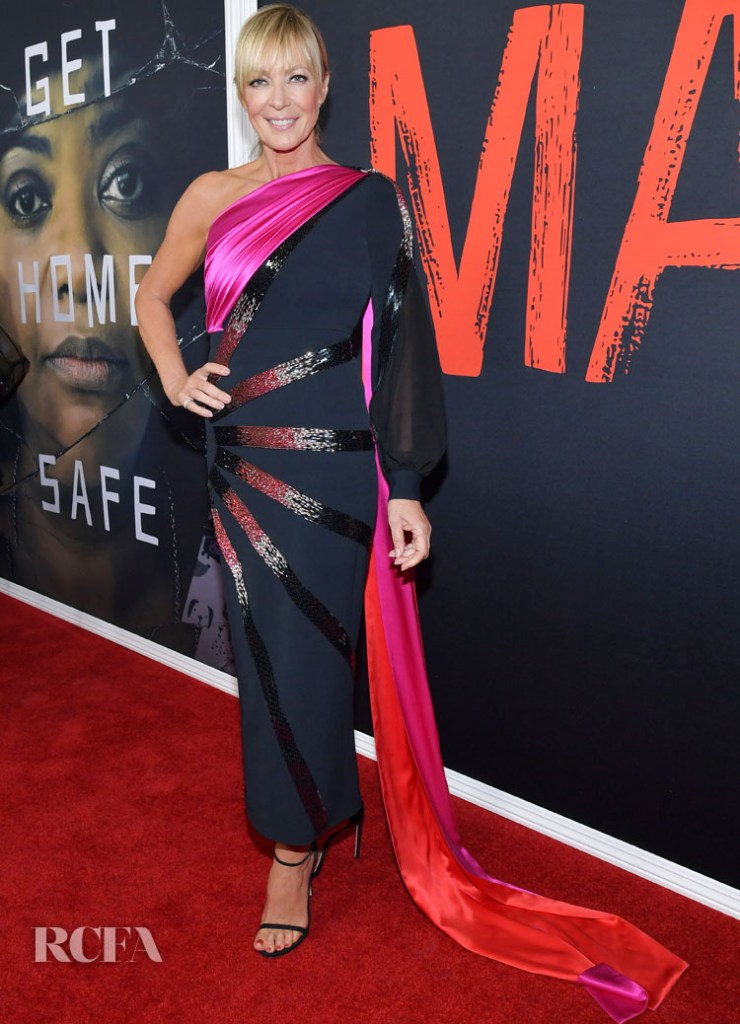 Allison Janney In Antonio Berardi  - 'Ma' Screening