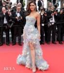 Araya A. Hargate In Atelier Versace - 'Les Miserables' Cannes Film Festival Premiere