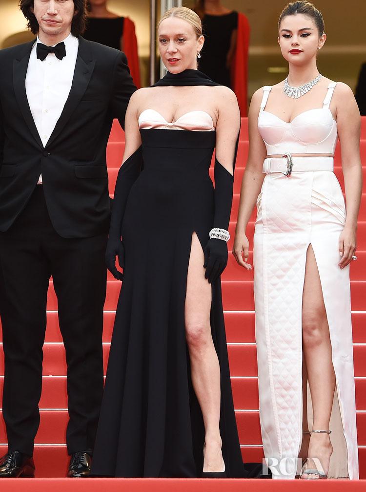 Chloe Sevigny In Mugler - 'The Dead Don't Die' Cannes Film Festival Premiere & Opening Ceremony