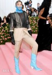 Cody Fern Rocks Two Maison Margiela Artisanal Men's by John Galliano Looks To The 2019 Met Gala