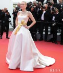 Dakota Fanning In Armani Prive - 'Once Upon a Time In Hollywood' Cannes Film Festival Premiere