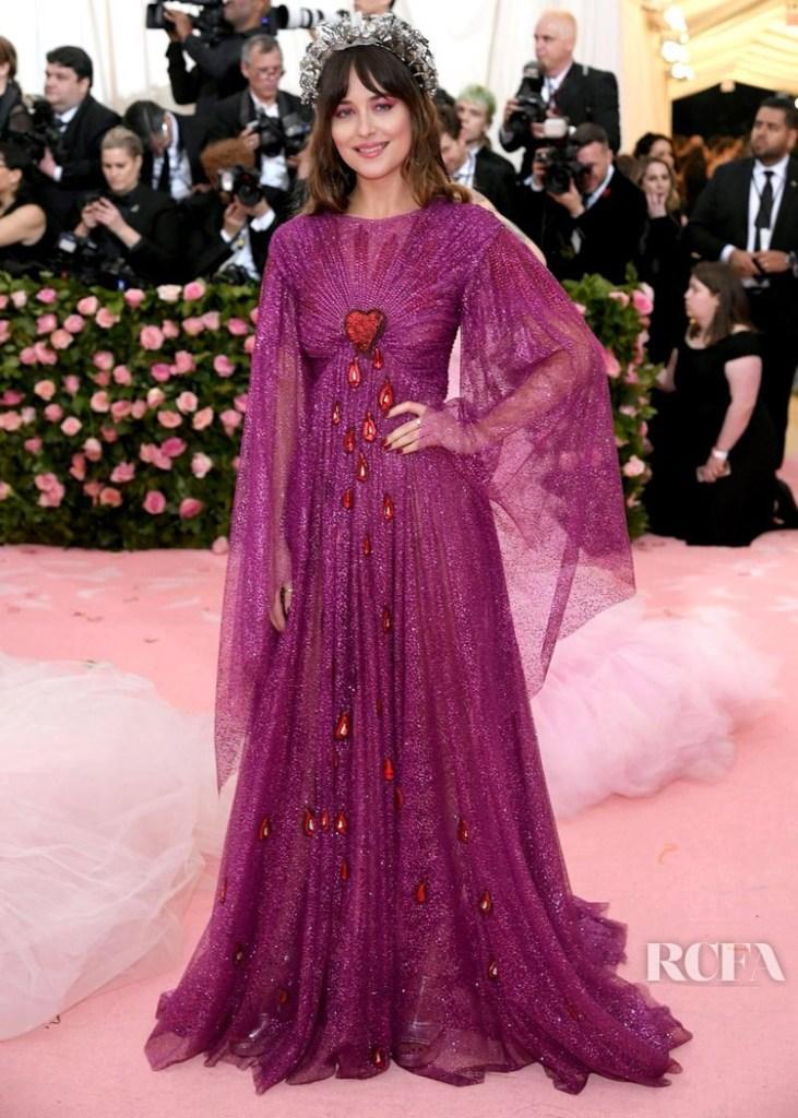 Dakota Johnson In Gucci - 2019 Met Gala
