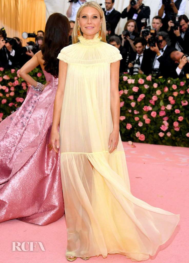 Gwyneth Paltrow In Chloe - 2019 Met Gala