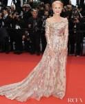 Helen Mirren In Elie Saab Haute Couture - 'Les Plus Belles Annees D'Une Vie' Cannes Film Festival Premiere