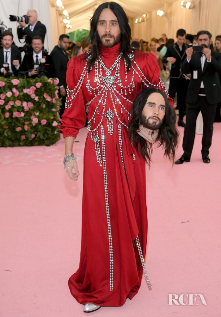 Jared Leto In Gucci - 2019 Met Gala