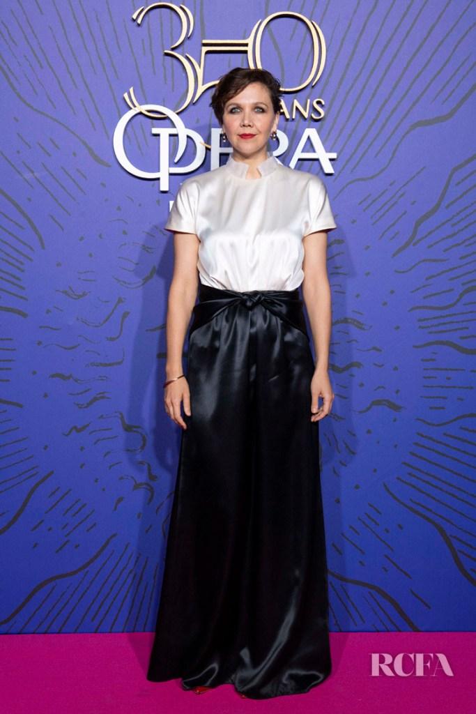 Maggie Gyllenhaal In Schiaparelli - Opera 350th Anniversary Gala