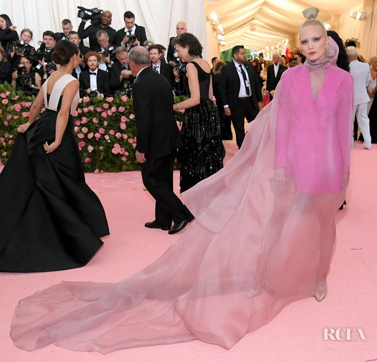Pom Klementieff In Salvatore Ferragamo - 2019 Met Gala