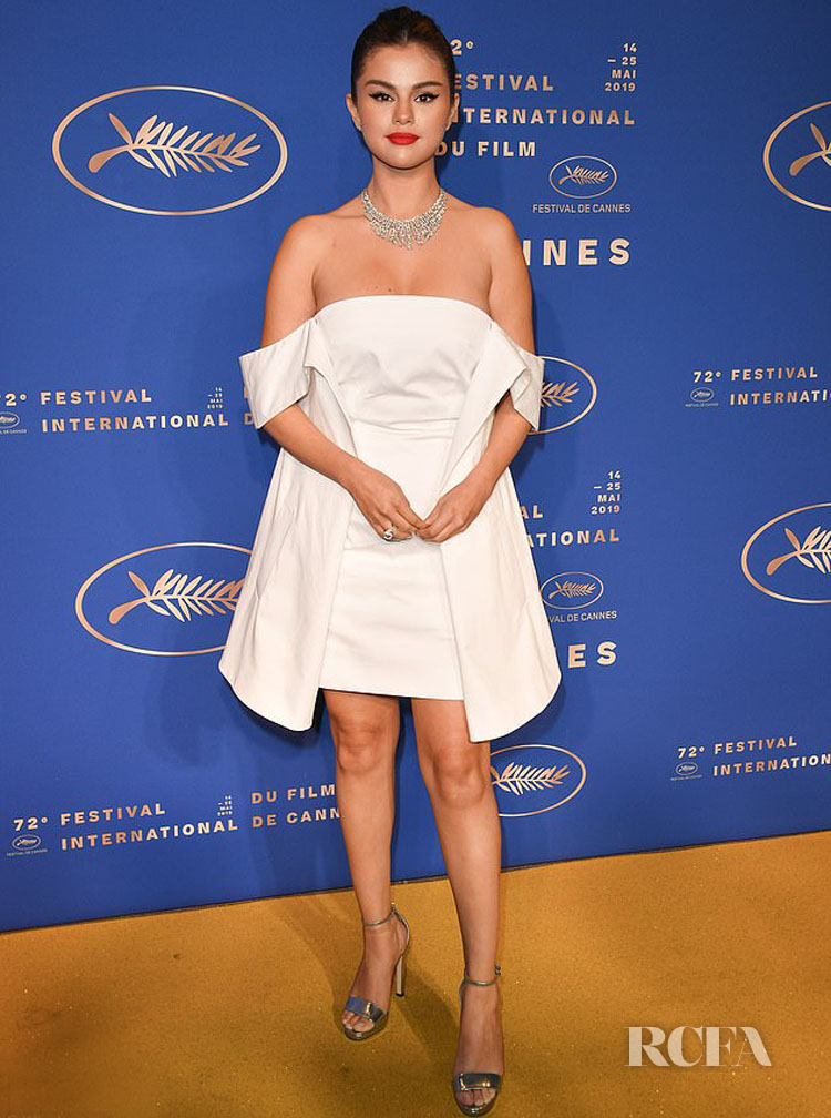 Selena Gomez' Second Louis Vuitton Look For Cannes Gala Dinner