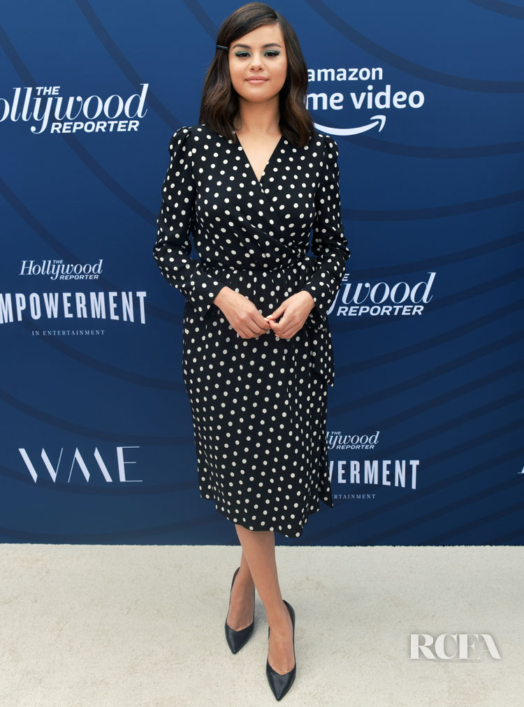 Selena Gomez's Pretty Polka Dot Celine For The Hollywood Reporter's Empowerment In Entertainment Event