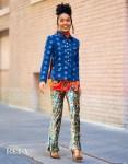 Yara Shahidi Promotes 'The Sun Is Also A Star' On Good Morning America