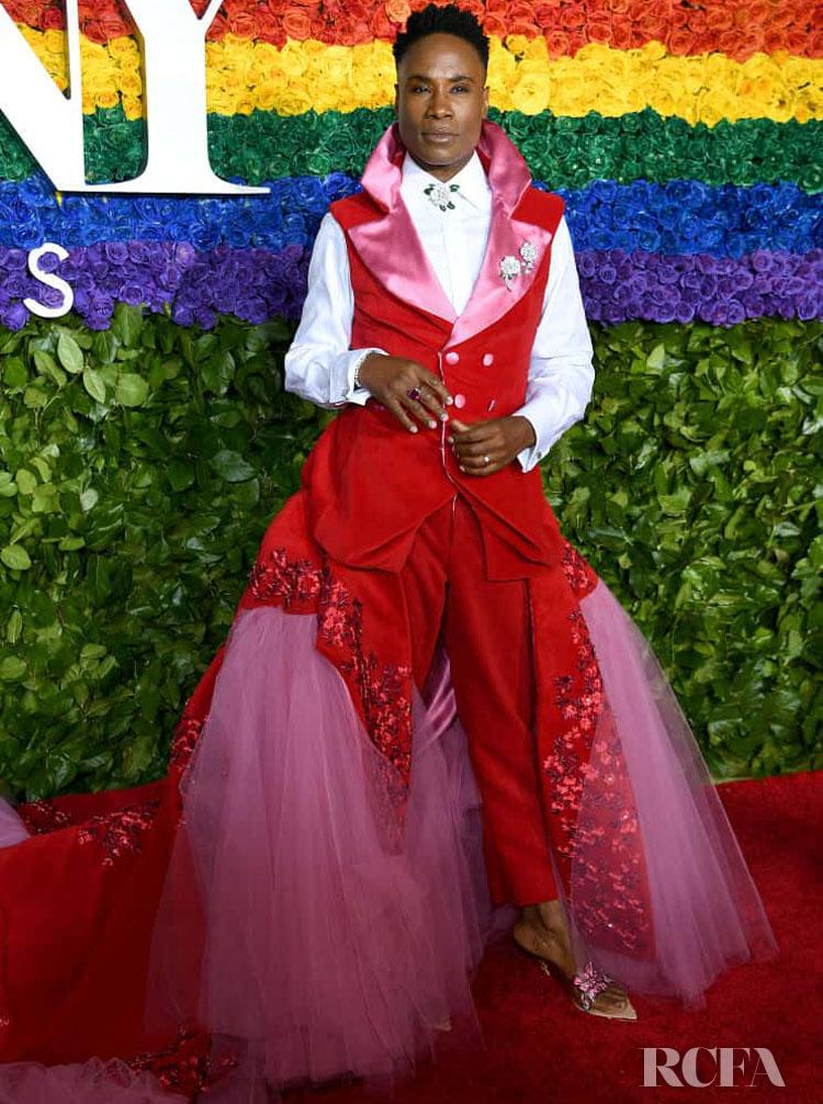 Billy Porter in Celestino Couture - 2019 Tony Awards