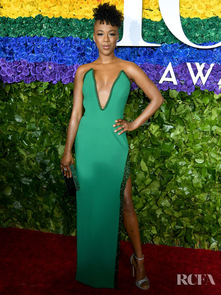 Samira Wiley in Pamella Roland - 2019 Tony Awards