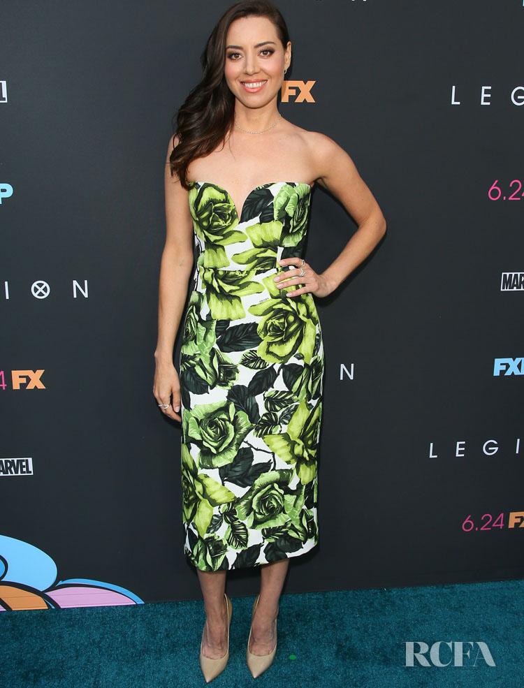 Aubrey Plaza Was Polished In Prada For The LA Premiere of 'Legion' Season 3