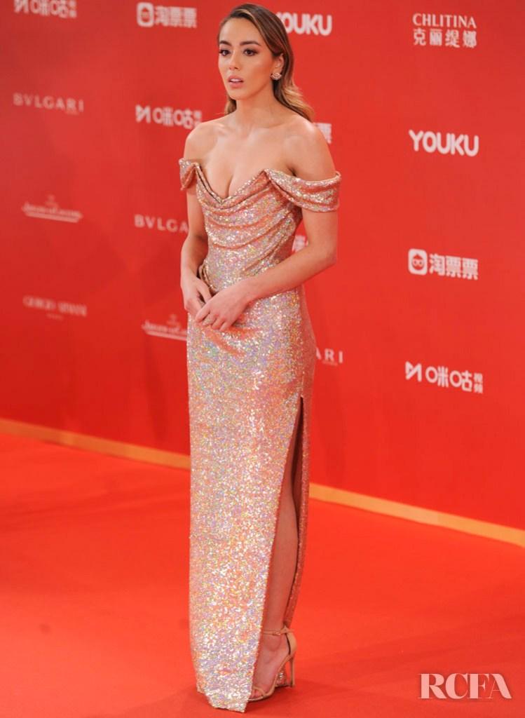Chloe Bennet In Vivienne Westwood - Shanghai International Film Festival Closing Ceremony