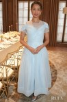 Gugu Mbatha-Raw's Pale Blue Disney Moment For The Cartier And British Vogue Darlings Dinner