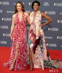 Jessica Alba & Gabrielle Union Were Halter Hunnies  For The Monte Carlo TV Festival Opening Ceremony