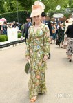 Natalie Dormer's Vintage Inspired Floral Look For Royal Ascot Ladies Day