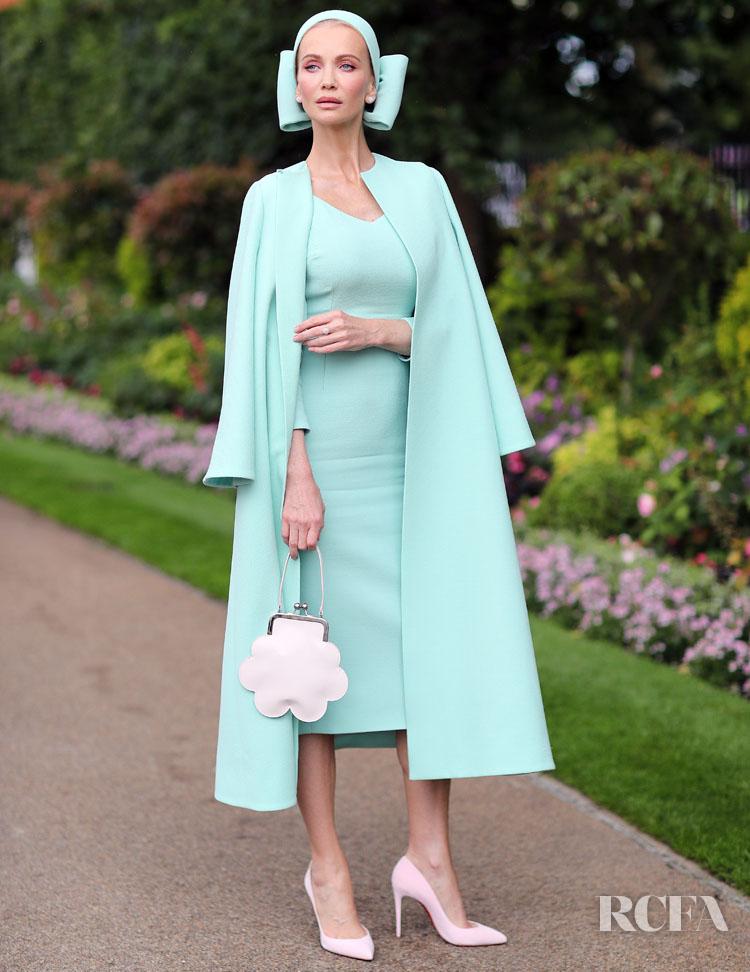 Tatiana Korsakova Wins Best Dressed At Royal Ascot in Emilia Wickstead