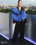 Tessa Thompson's Structural Elegance For The 'Men In Black: International' Paris Photocall