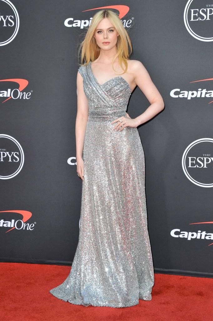 Elle Fanning in Celine - 2019 ESPYs