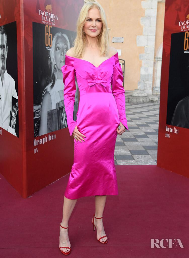 Nicole Kidman In Olivier Theyskens Taormina Film Festival