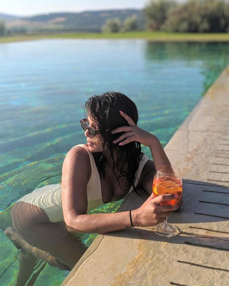 Priyanka Chopra's Tuscany vacation