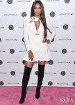 Ciara's LWD & Black Boots Combo For Beautycon Los Angeles