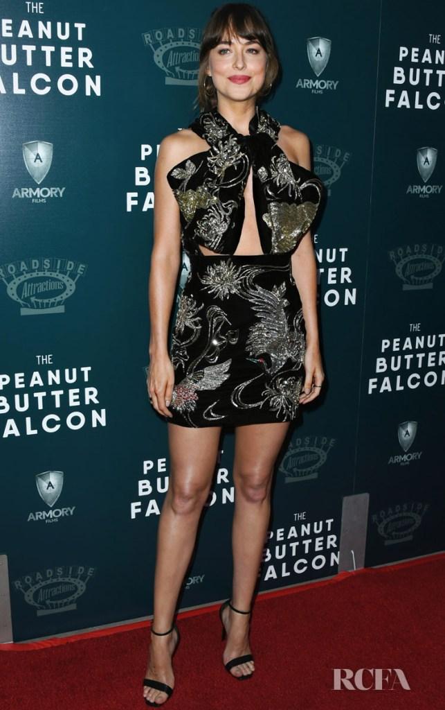 Dakota Johnson In Saint Laurent - 'The Peanut Butter Falcon' LA Screening