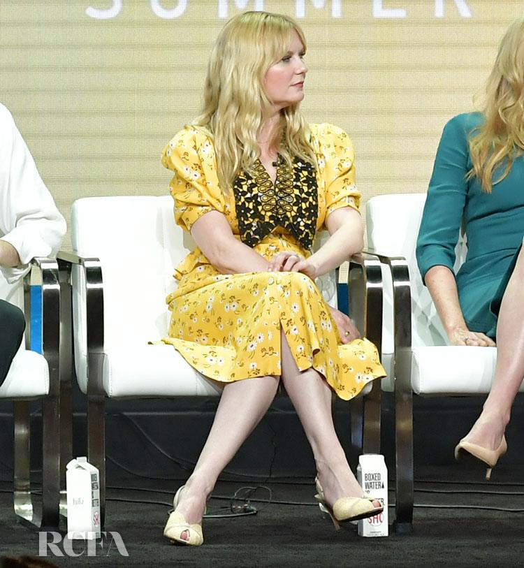 Kirsten Dunst In Miu Miu - 2019 Summer TCA Press Tour