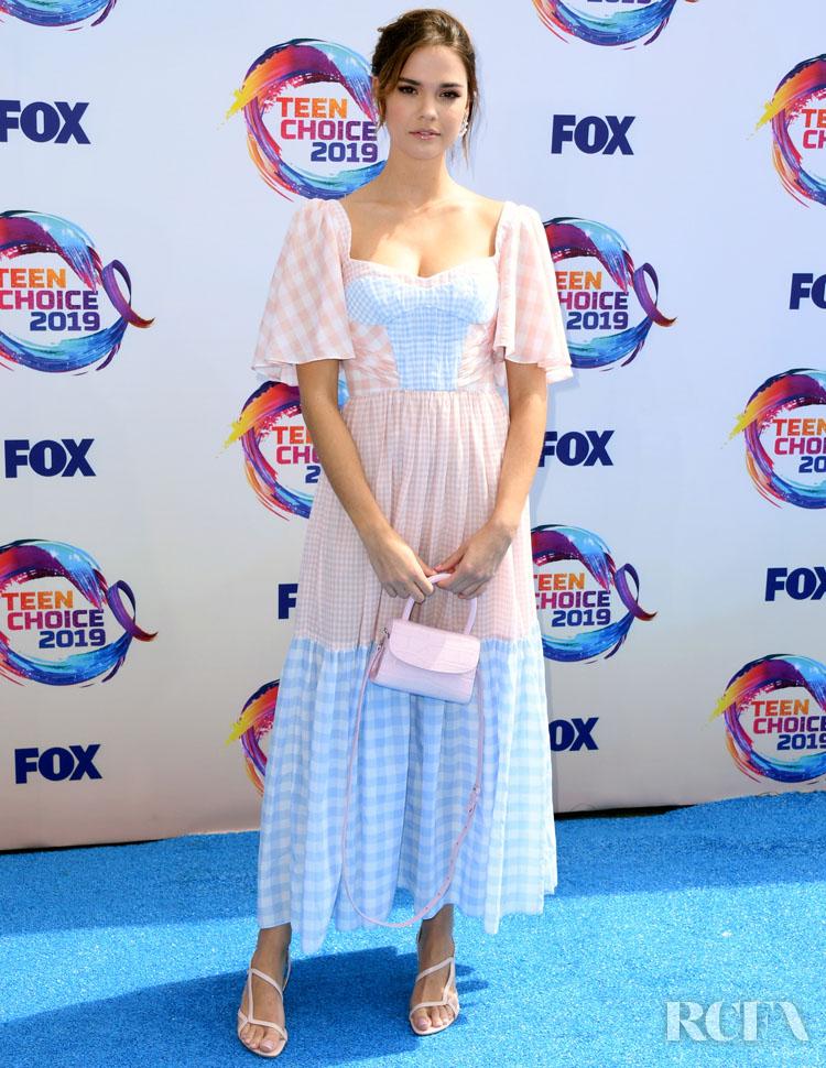 Maia Mitchell In Prabal Gurung - 2019 Teen Choice Awards