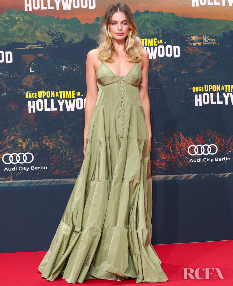 Margot Robbie Berlin Premiere For The 'Once Upon a Time in Hollywood'