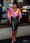 Naturi Naughton Was Rainbow Bright For Saks Fifth Avenue Window Celebration Of The Final Season Of 'Power'