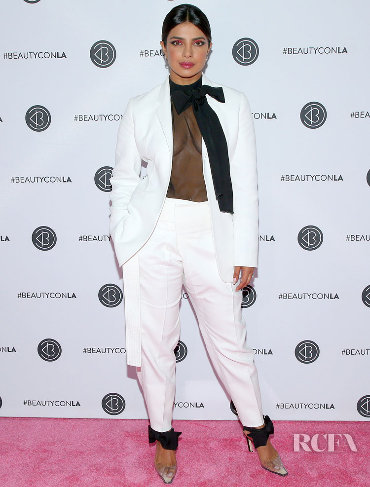 Priyanka Chopra Suits Up For Beautycon Los Angeles 2019