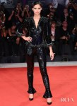 Sara Sampaio In Armani Prive - 'Seberg' Venice Film Festival Premiere