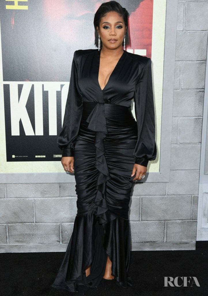 Tiffany Haddish Oozes Glamour At The LA Premiere For 'The Kitchen'