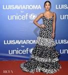 Vanessa Hudgens Was Polka Dot Pretty For The 2019 Unicef Summer Gala