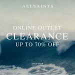 Allsaints Outlet. Get Up To 70% Off